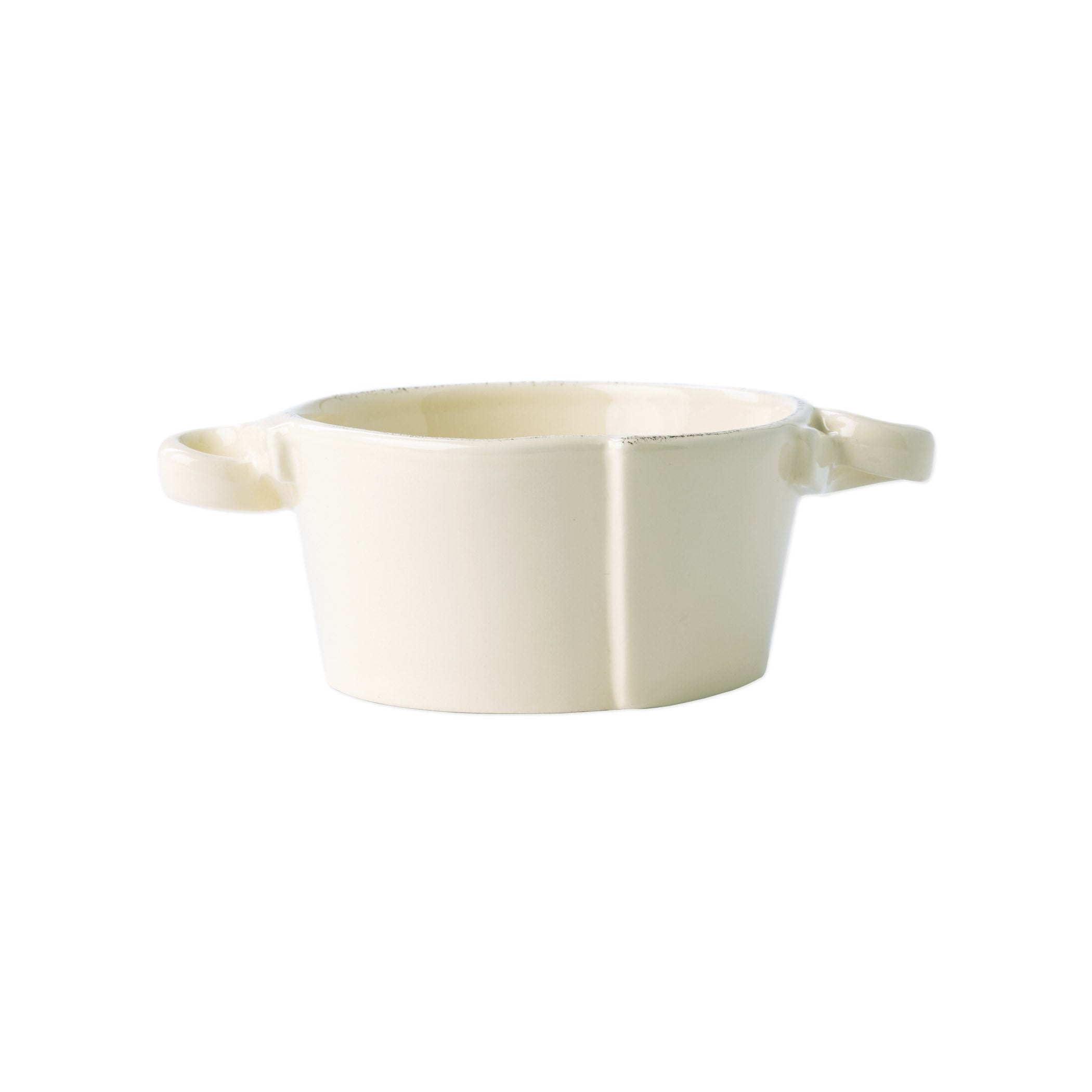 Lastra Linen Small Handled Bowl