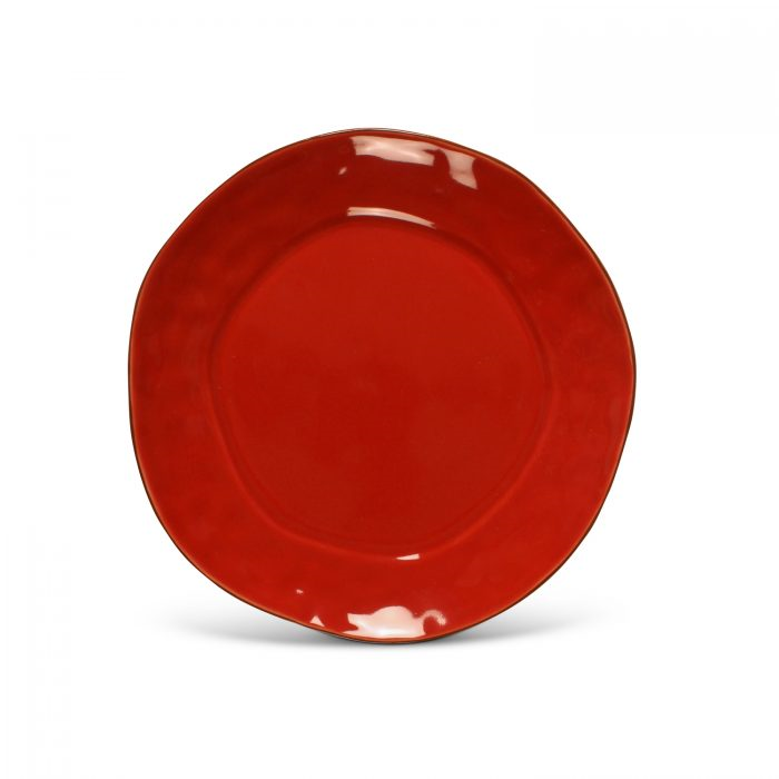 Cantaria Bread/Side Plate Poppy Red