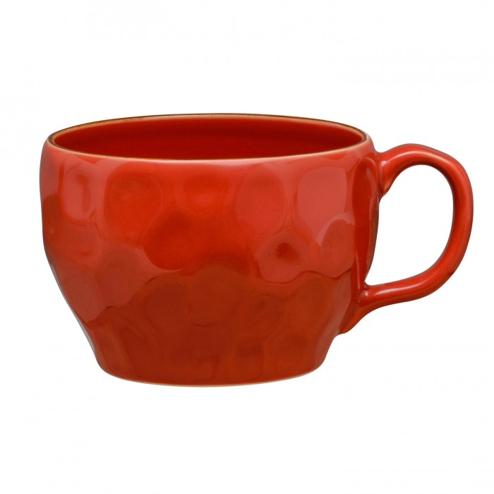 Cantaria Breakfast Cup Poppy Red