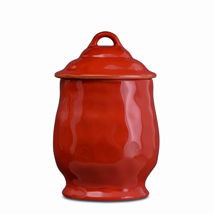 Cantaria Medium Canister Poppy Red