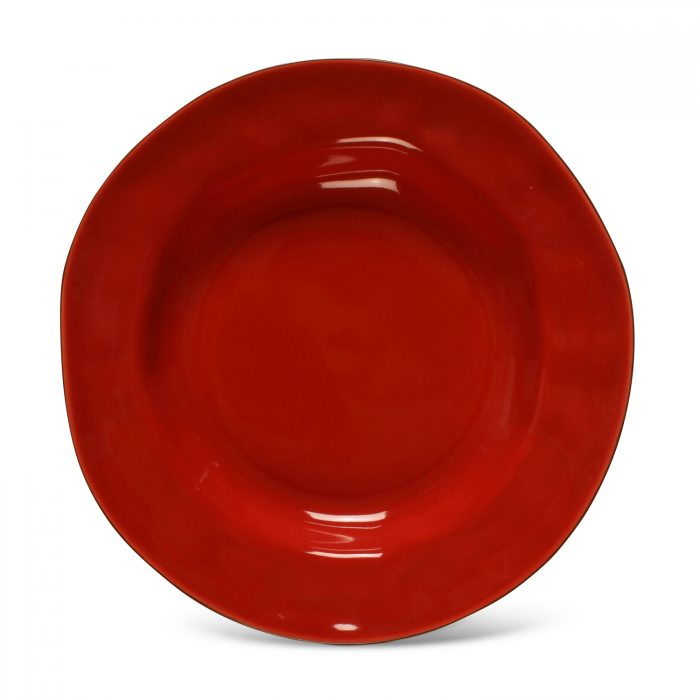 Cantaria Pasta Bowl / Rim Soup Poppy Red