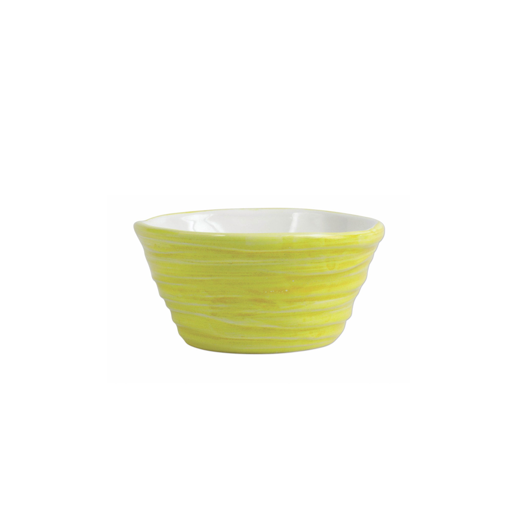 Pesci Colorati Yellow Ramekin