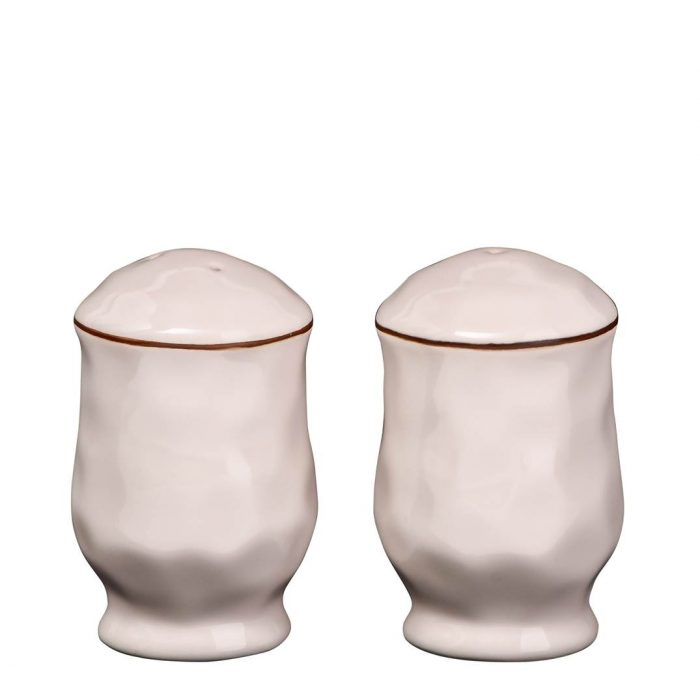 Cantaria Salt and Pepper Set Ivory