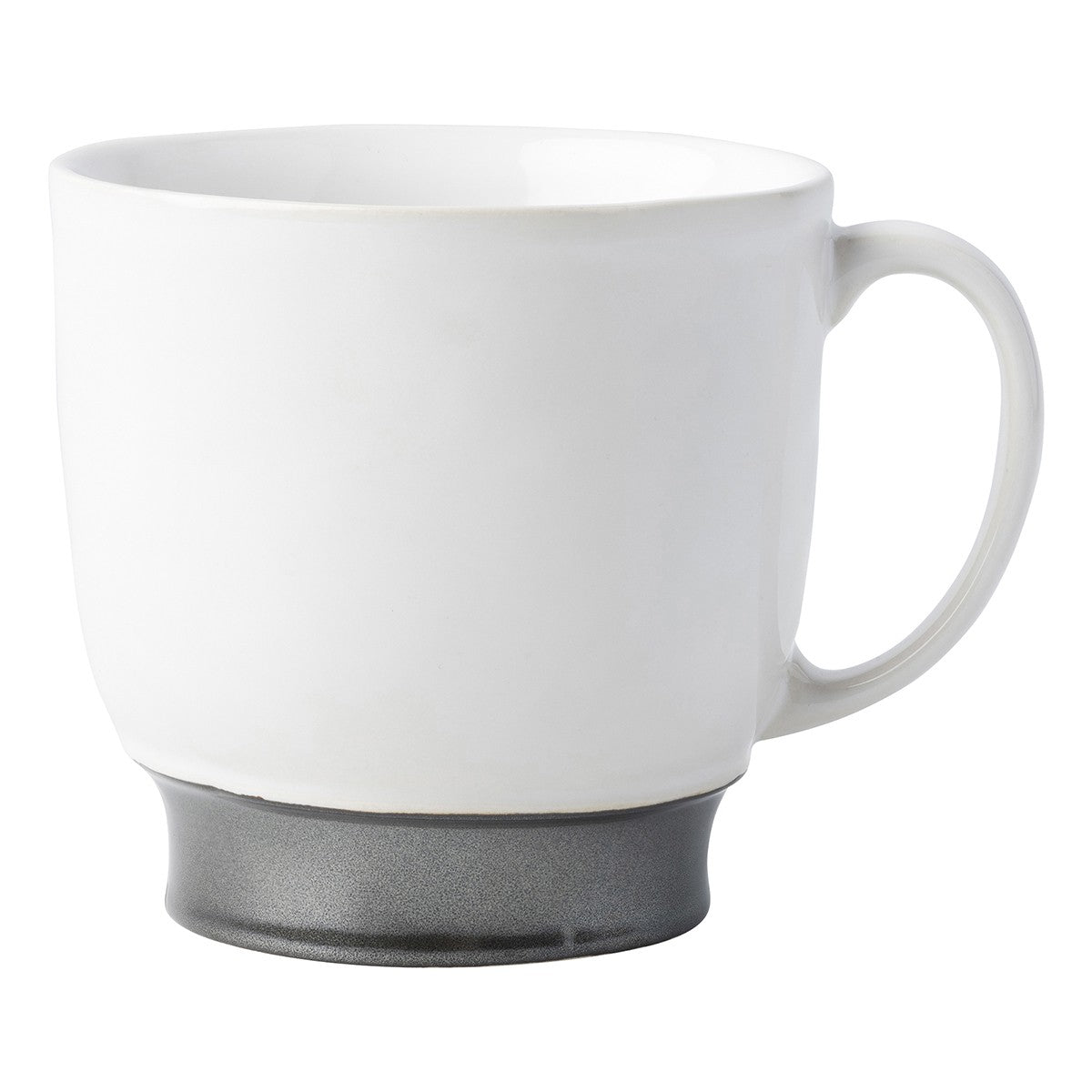 Emerson White/Pewter Coffee/Tea Cup