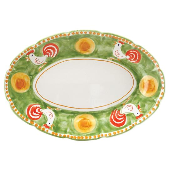 Campagna Gallina Oval Platter