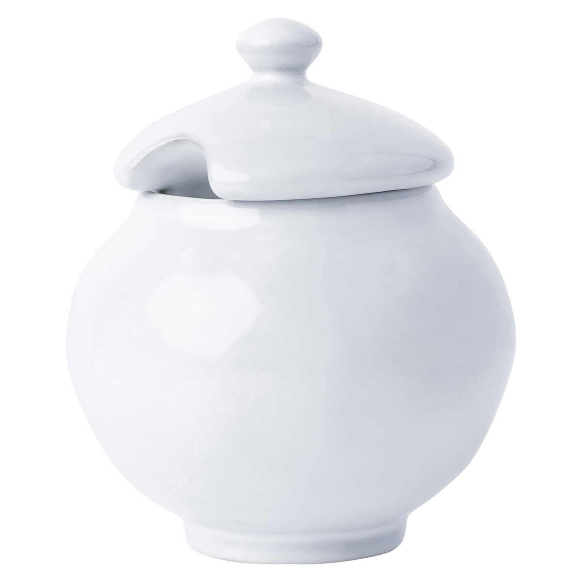 Quotidien White Truffle Lidded Sugar Bowl