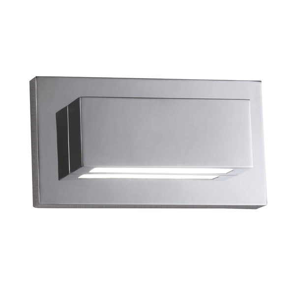Searchlight LED WALL LIGHT 10W CHROME UP-DOWNLIGHT