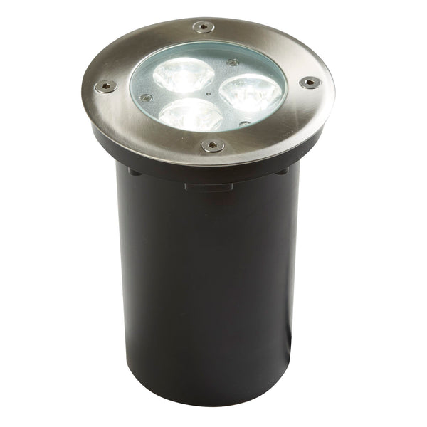 Searchlight LED RECESSED INDOOR & OUTDOOR - WALKOVER - STAINLESS STEEL WHITE LED