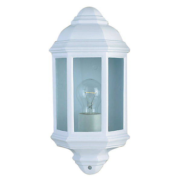Searchlight OUTDOOR & PORCH WALL LIGHT WHITE FLUSH