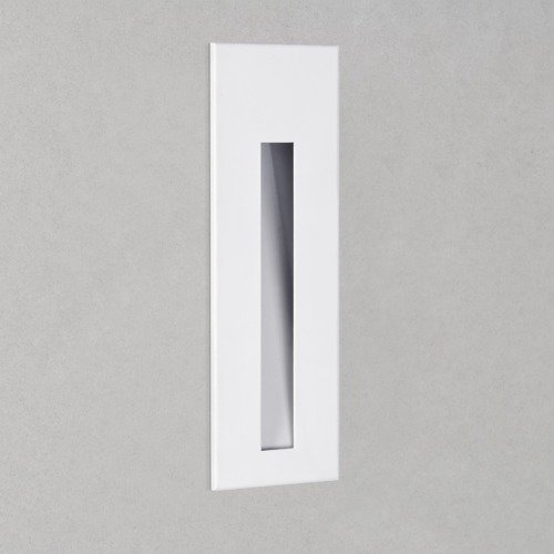 Astro BORGO 43 LED 2700K IP65 Recessed Wall Light - Matt White Finish
