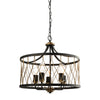 Endon HESTON 5 LIGHTS PENDANT 60W