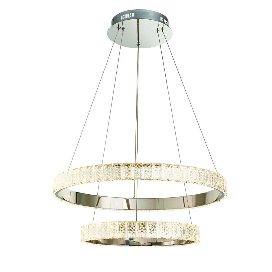 Endon Collection Celeste 2lt LED Pendant