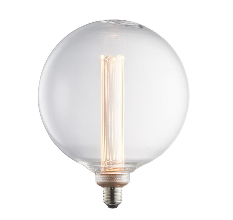 Endon Collection Globe 1lt LED Lamp - Warm White