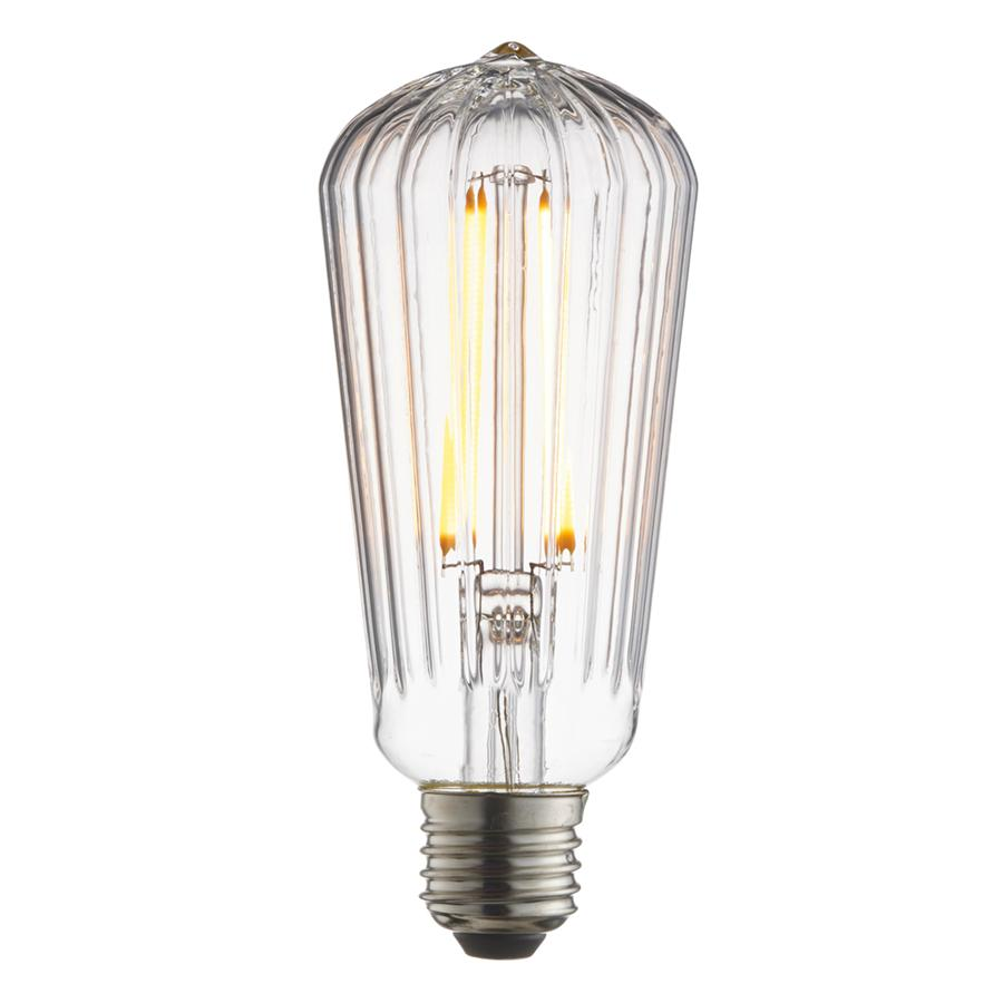 Endon Collection Ribb Pear 1lt LED Lamp - Warm White