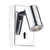 DAR - ANVIL WALL BRACKET LED POLISHED CHROME