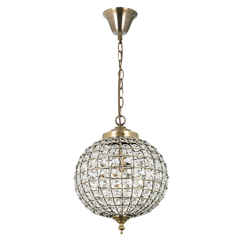 Endon TANARO 1 LIGHT PENDANT 60W
