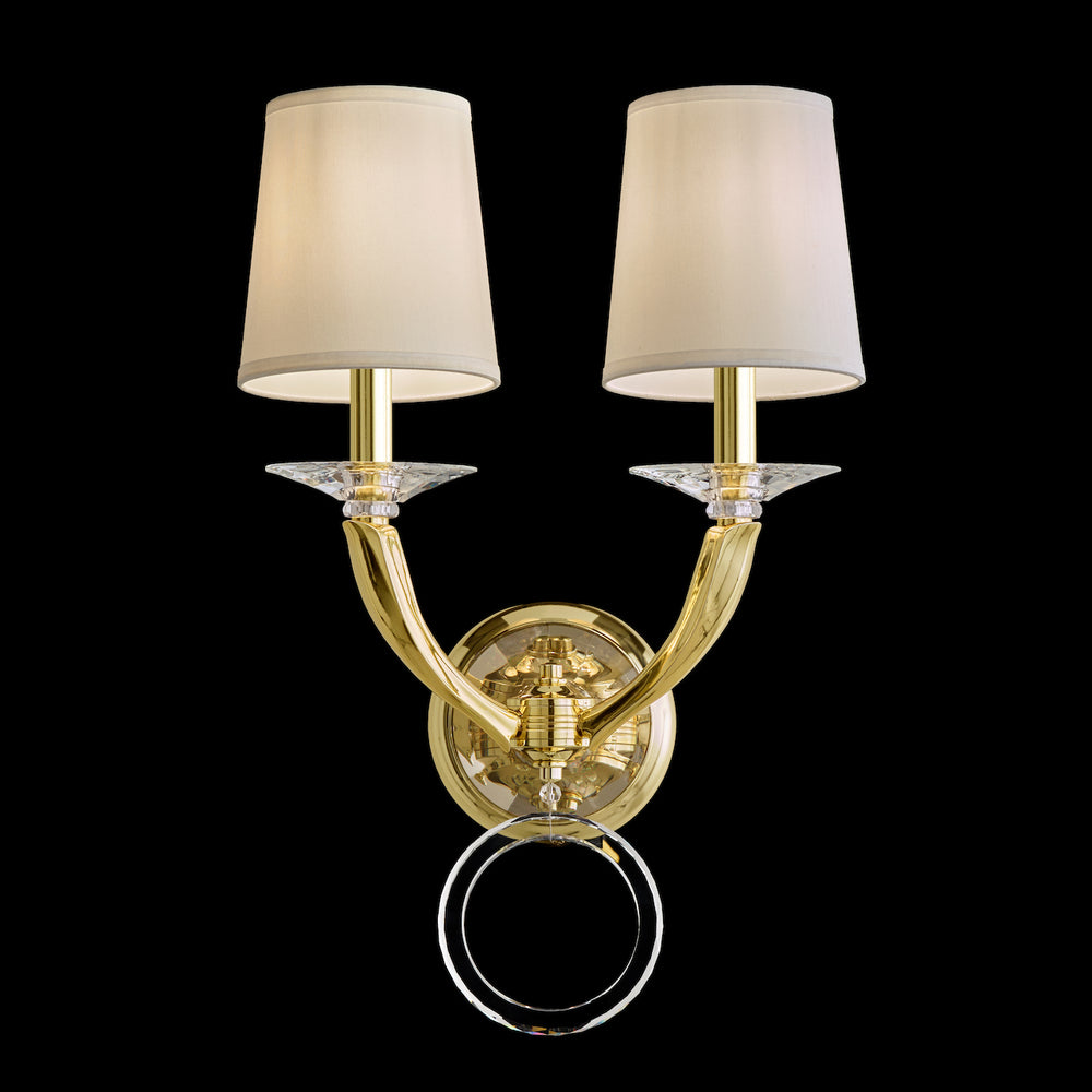 Schonbek Traditional Crystal EMILEA Wall Sconce