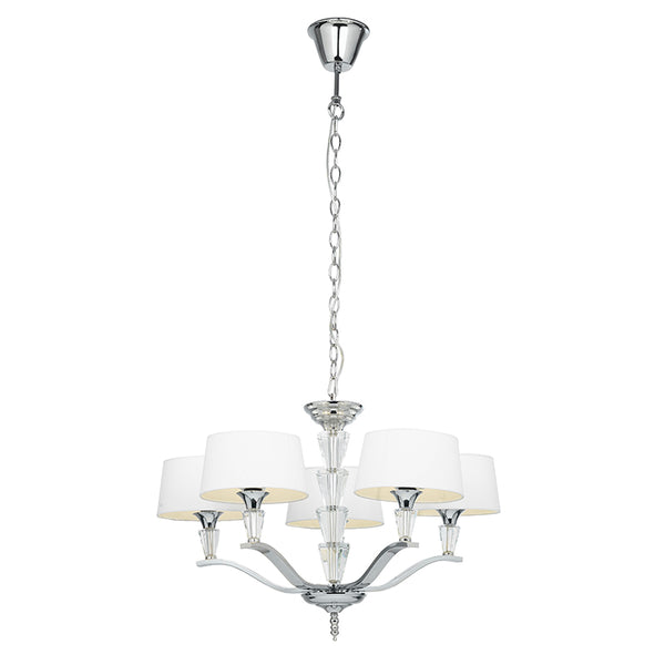 Endon FIENNES 5 LIGHTS PENDANT 40W