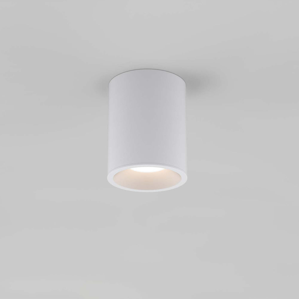 Astro KOS ROUND 100 LED OUTDOOR CEILING LIGHT in Textured White