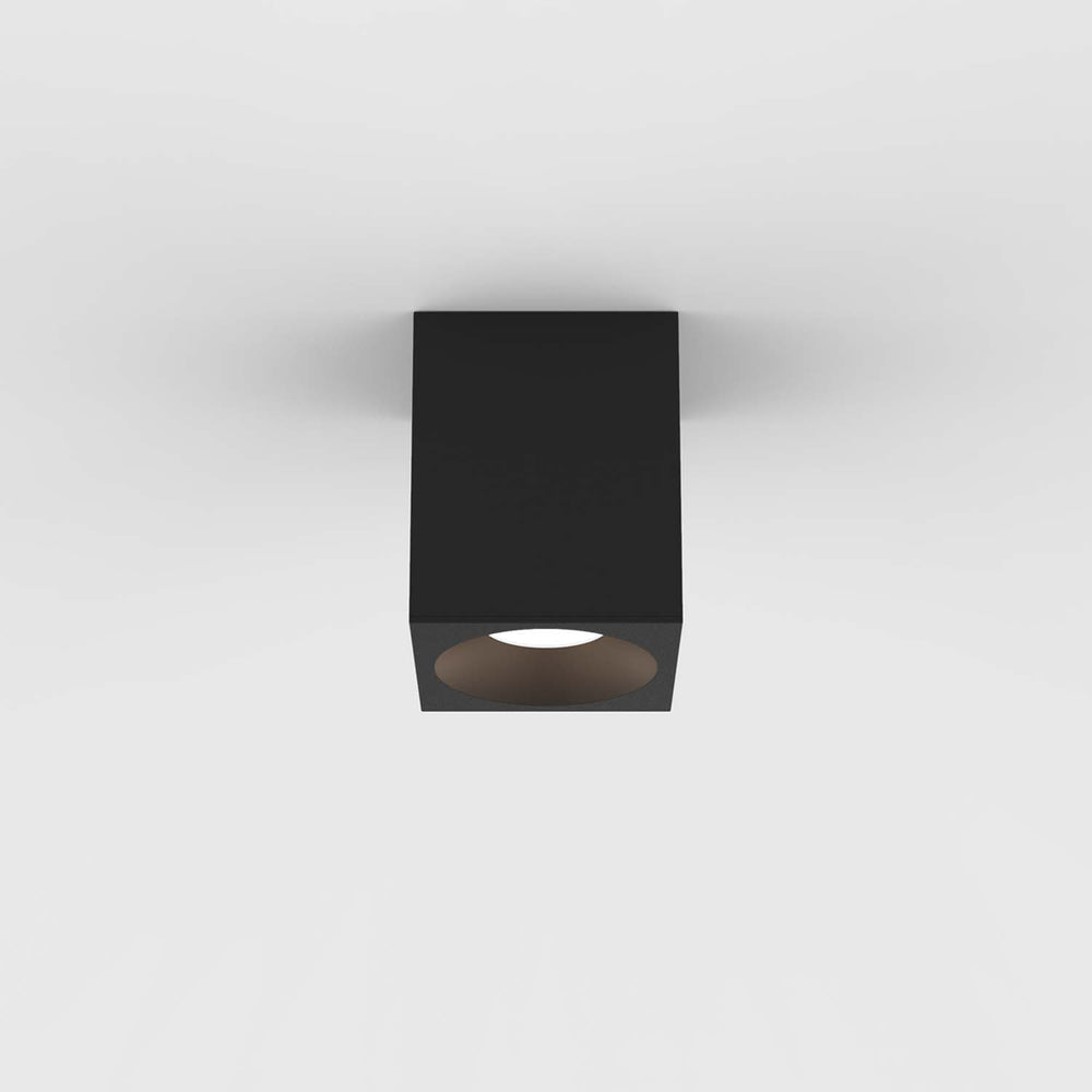 Astro KOS SQUARE 100 LED OUTDOOR CEILING LIGHT in Textured Black