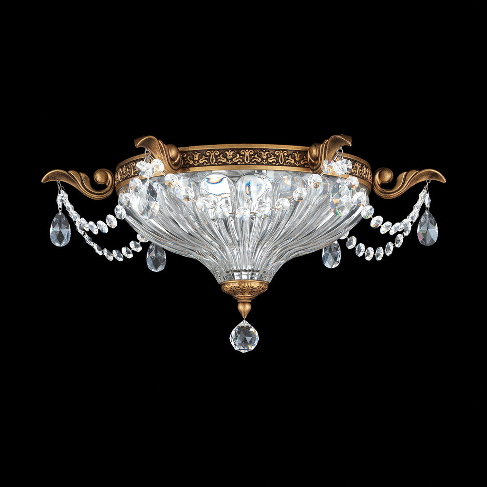 Schonbek Traditional Crystal MILANO Flush Chandelier