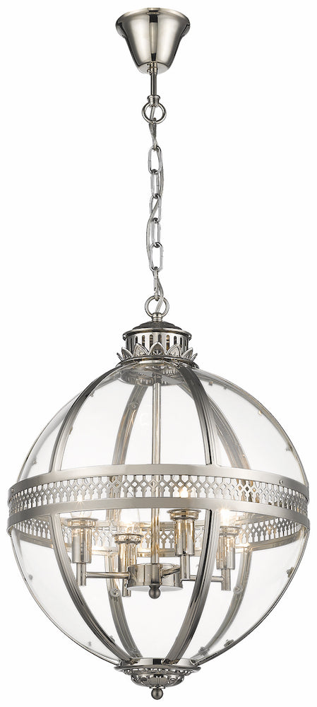 SLM TCIV Nickel 4 Light Pendant