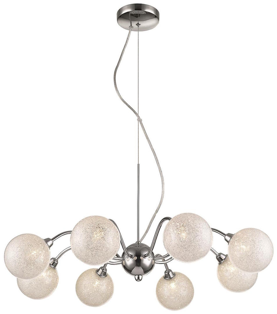 SLM BMIW Clear 8 Lights Decorative Pendant