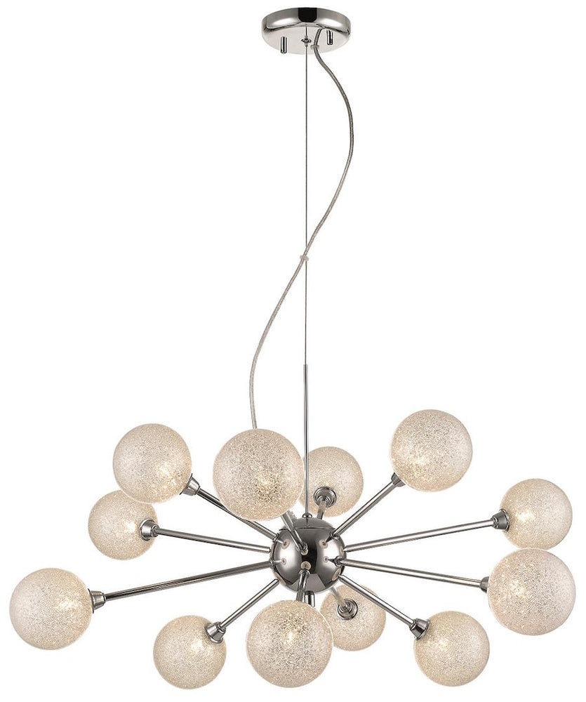 SLM BMIW Clear 12 Lights Decorative Pendant