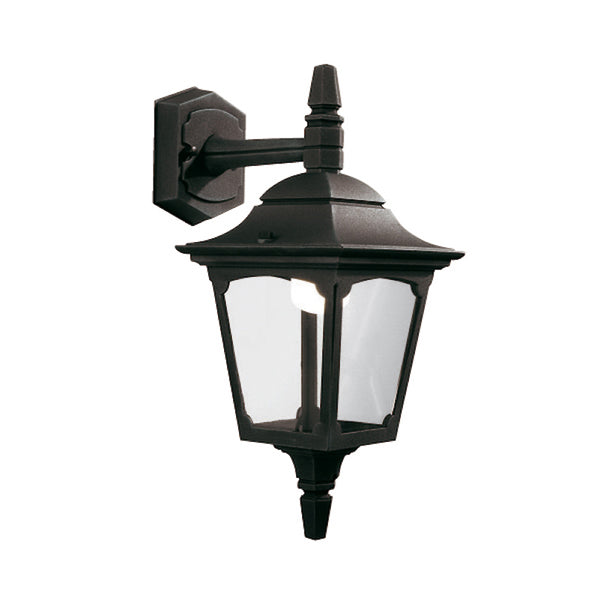 Elstead Lighting CHAPEL MINI DOWN WALL LANTERN BLACK