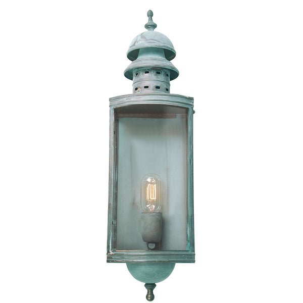 Elstead Lighting DOWNING STREET WALL LANTERN VERDI