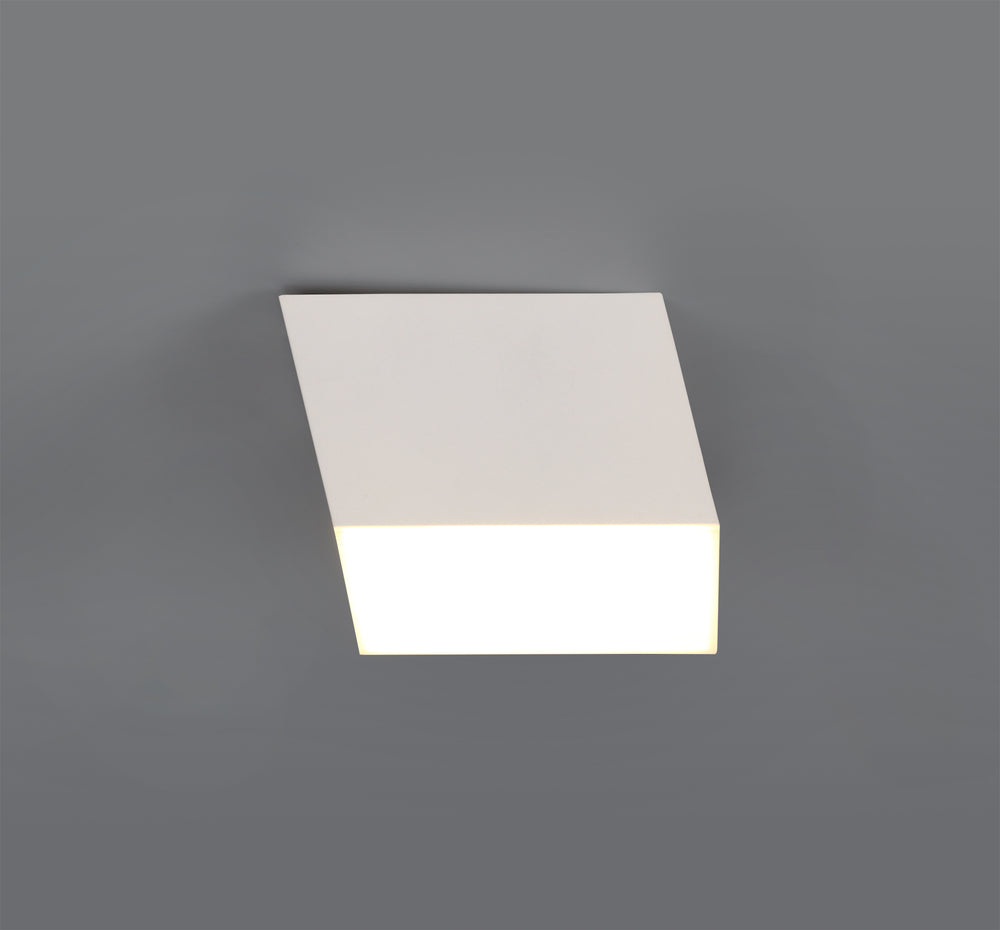 LUMOS Emimurray Spotlight 9cm Square 1 x 10W LED -  700lm