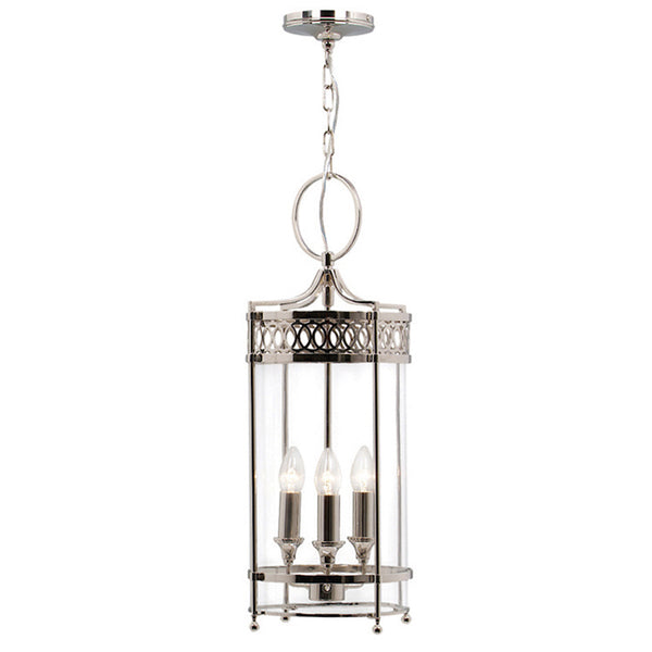 Elstead Lighting GUILDHALL PENDANT POLISHED NICKEL