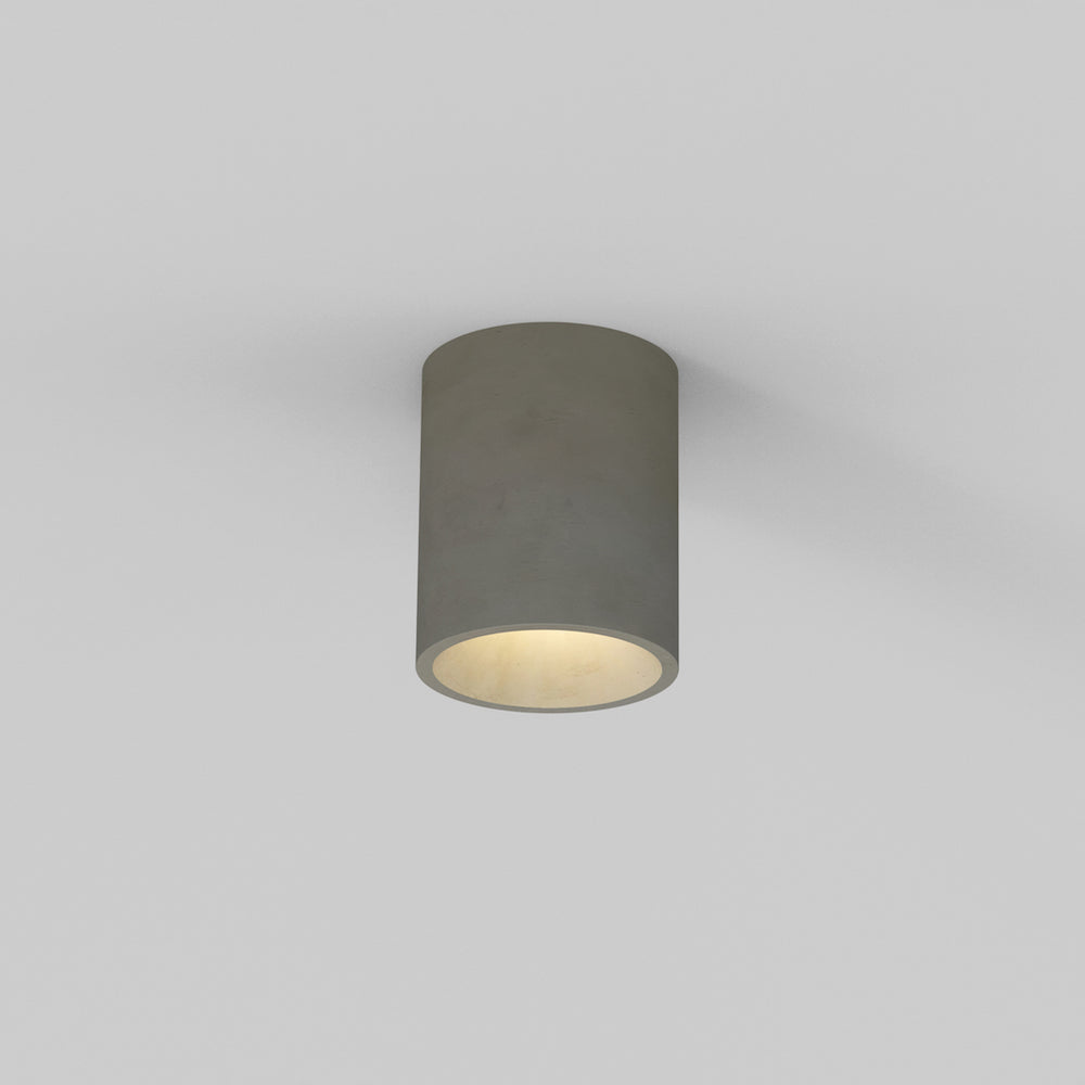 Astro KOS ROUND OUTDOOR COASTAL LIGHT in Concrete