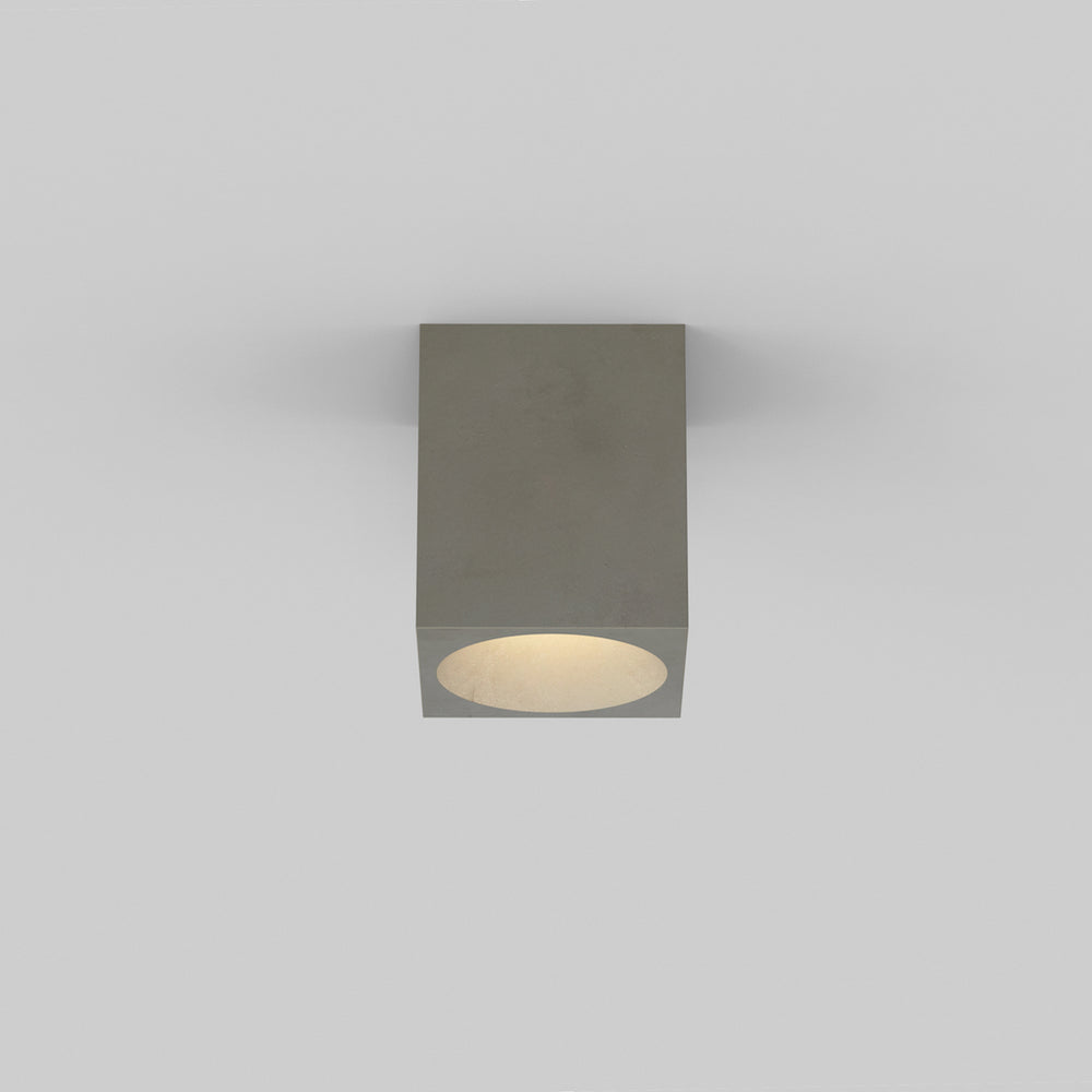Astro KOS SQUARE OUTDOOR COASTAL LIGHT in Concrete