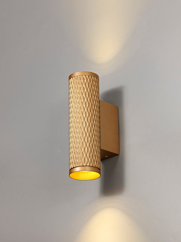 LUMOS Madison Wall Lamp -  Champagne Gold