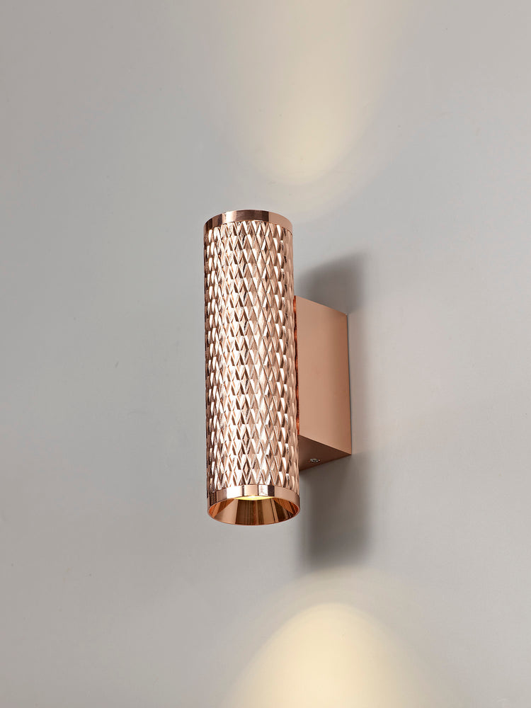 LUMOS Madison Wall Lamp -  Rose Gold