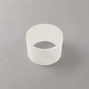 LUMOS Madison 2cm Face Ring Accessory -  Frosted Acrylic