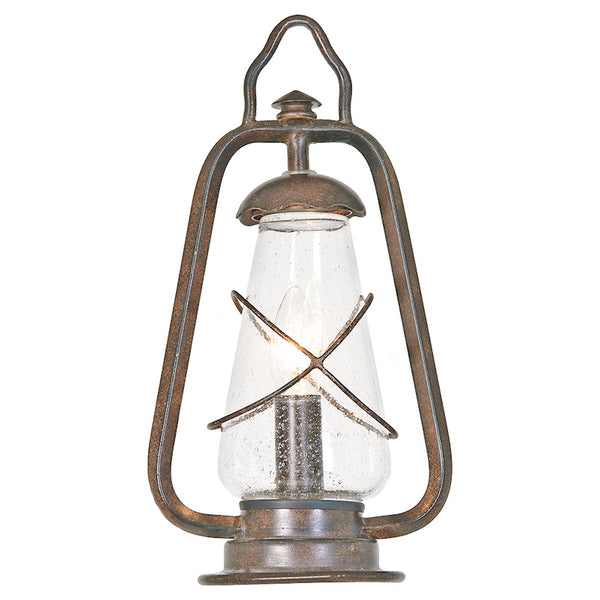 Elstead Lighting MINERS PEDESTAL LANTERN