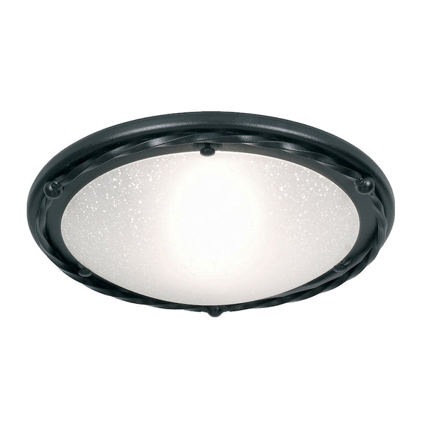 Elstead Lighting PEMBROKE FLUSH B BLACK