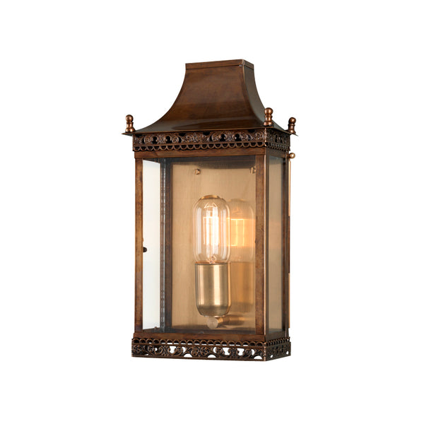 Elstead Lighting REGENTS PARK WALL LANTERN BRASS