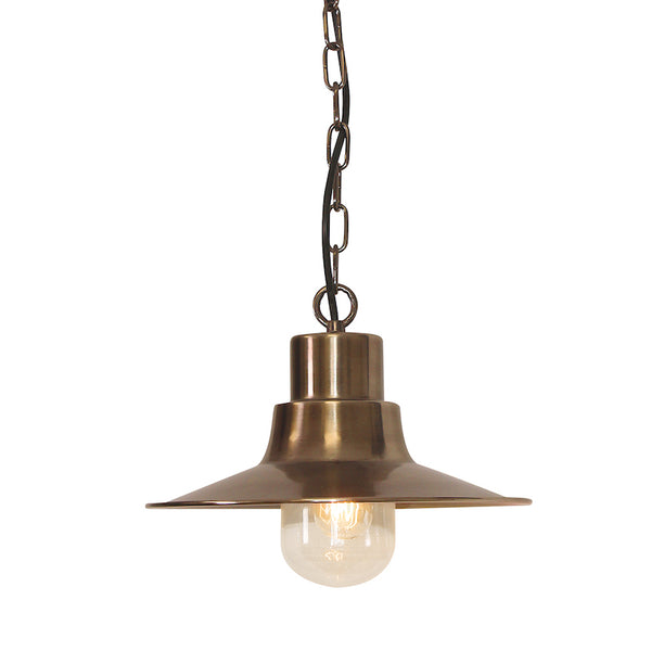 Elstead Lighting SHELDON BRASS CHAIN LANTERN
