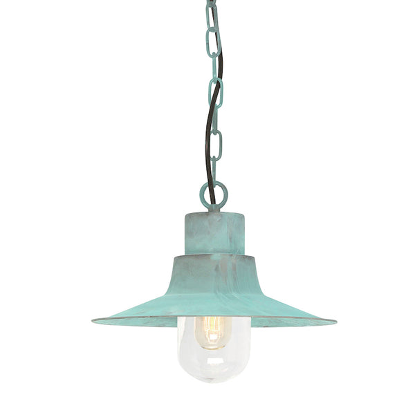 Elstead Lighting SHELDON VERDI CHAIN LANTERN