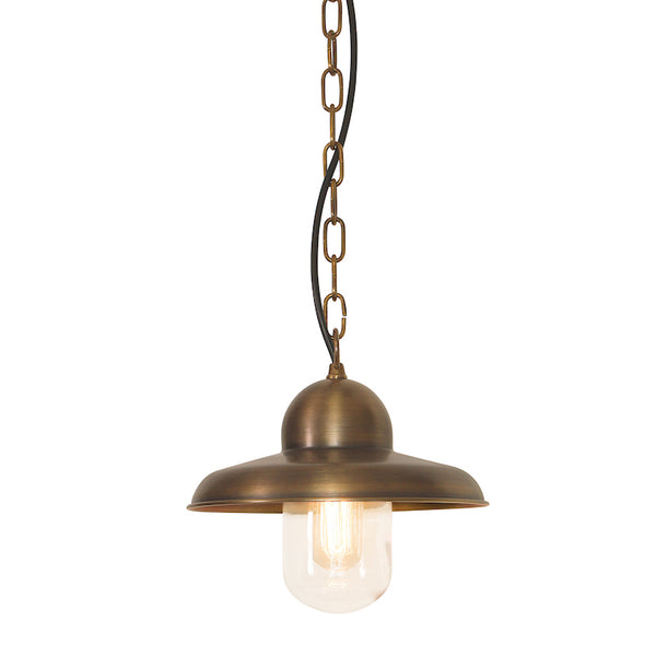 Elstead Lighting SOMERTON BRASS CHAIN LANTERN