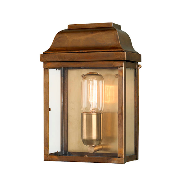 Elstead Lighting VICTORIA WALL LANTERN BRASS