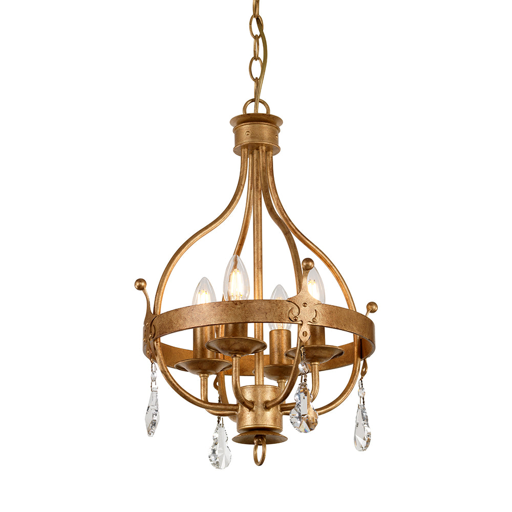 Elstead Lighting WINDSOR 4LT PENDANT