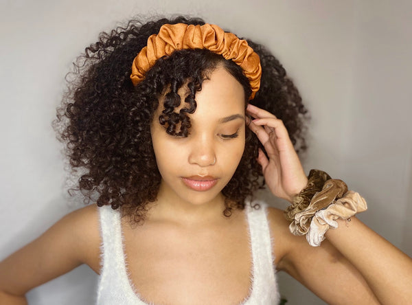 Silk Ruffle Headband