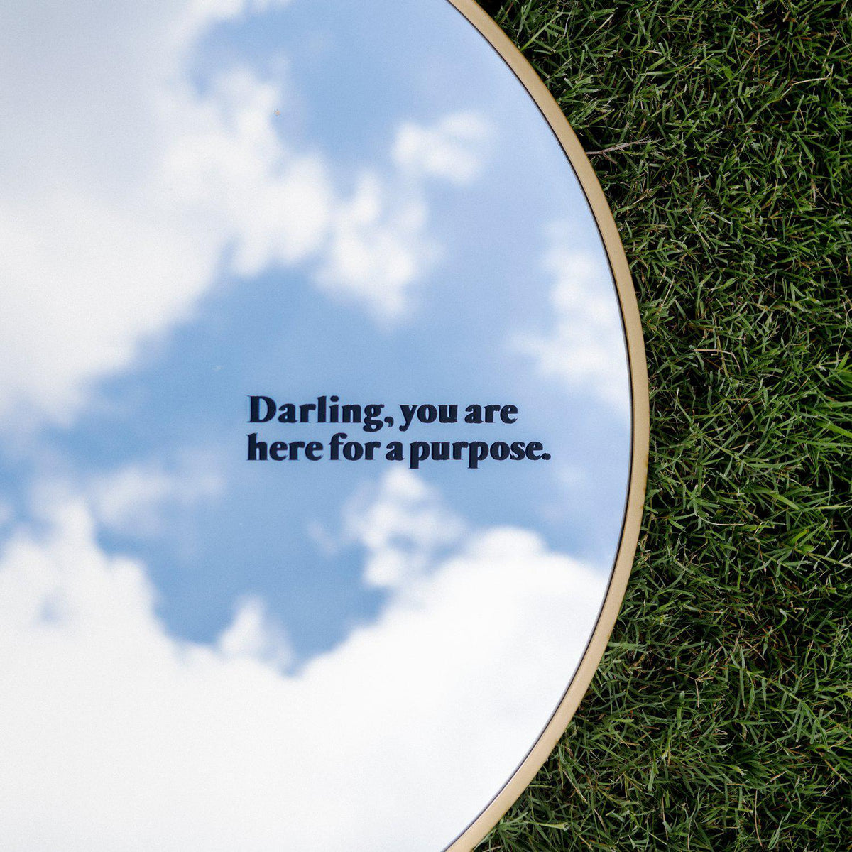Here For A Purpose Decal-Darling-1000 Palms