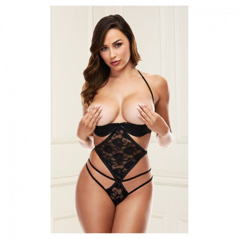 Baci Show Me Strappy Teddy Black