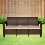 Load image into Gallery viewer, Detec™ Out'n'Out 3 Seater Sofa - Rust Brown Color