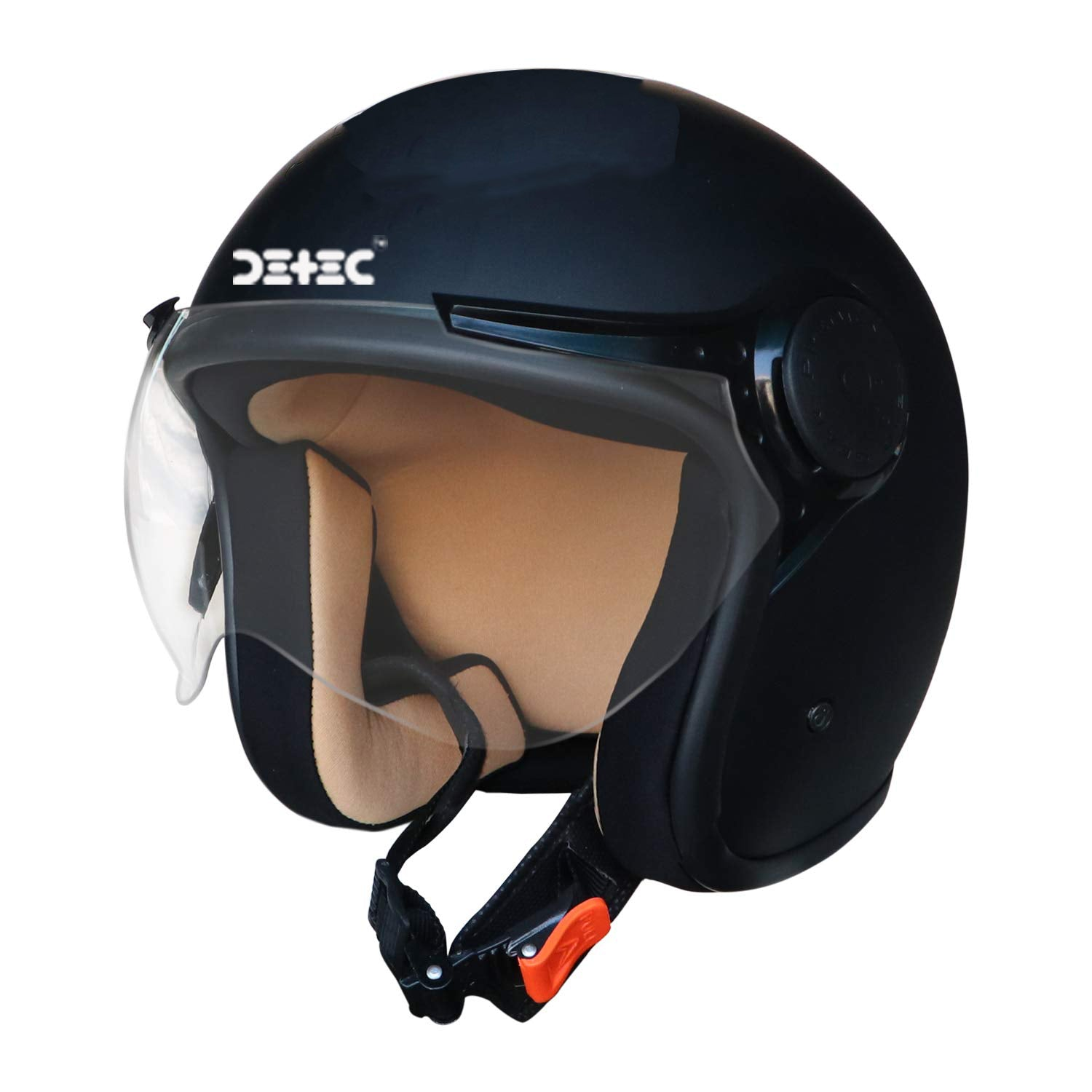 Detec™ Open Face Half Helmet for Men & Women